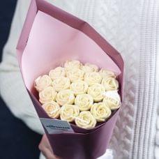 Белоснежка (19 роз)