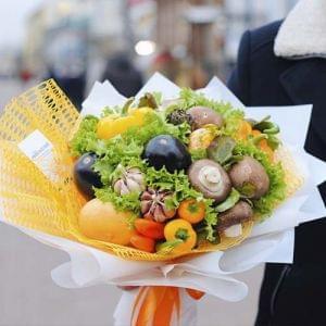 "Букет из овощей ""Осенние краски"""