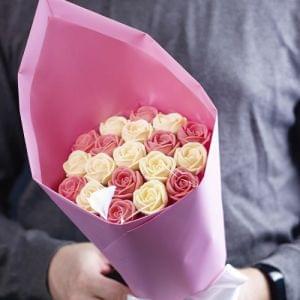 Цветок Сакуры (19 роз)